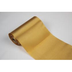 Rolka satyna szer 37 cm złota