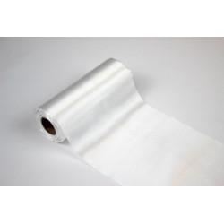 Rolka satyna szer 37 cm biała